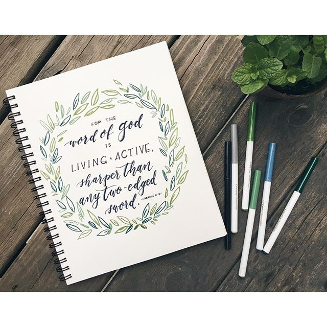 19 - #30daysofbiblelettering