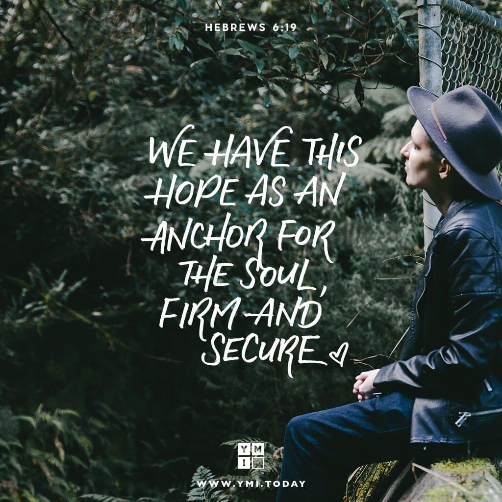 Typography: Hebrews 6:19 – YMI