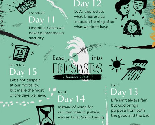 Ease into Ecclesiastes Part 3
