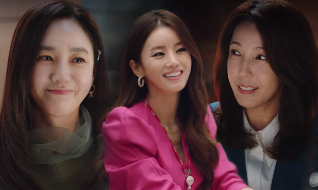 image of 3 korean women from k drama love ft marriage and divorce