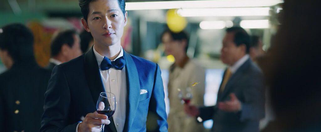 image of song joong ki in vincenzo drama
