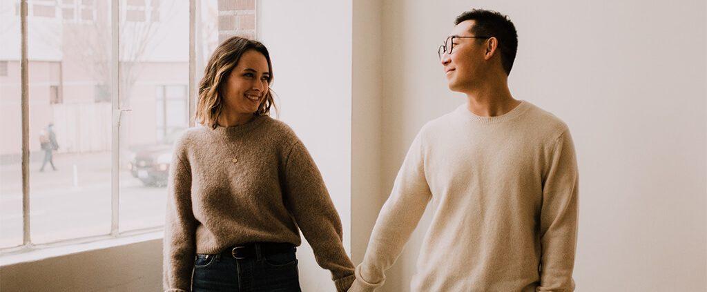Image of mixed race couple