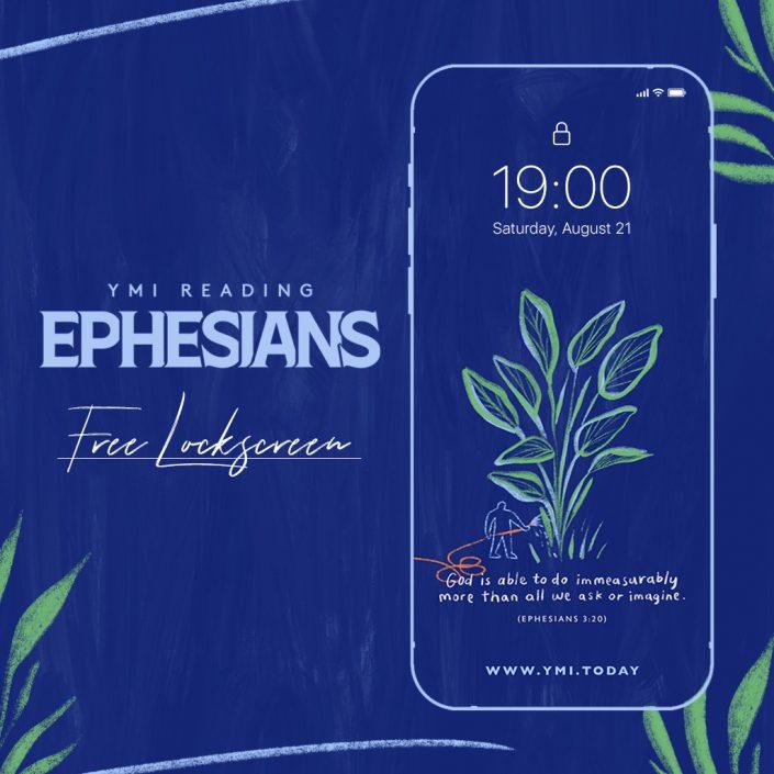 YMI Reading Ephesians Free Lockscreen