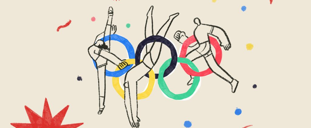 graphic image of olympic