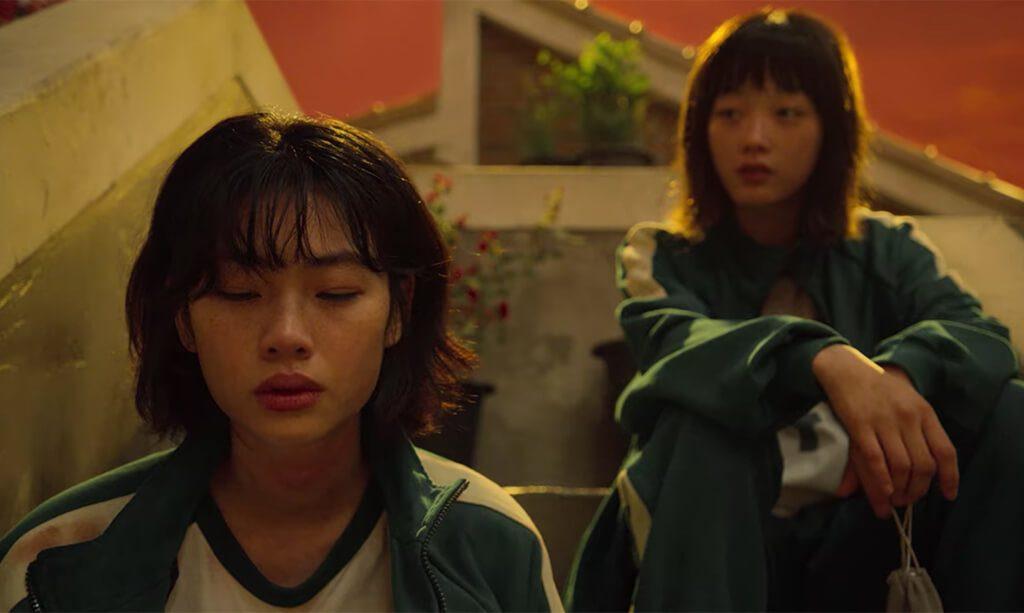 Image of two ladies looking distressed